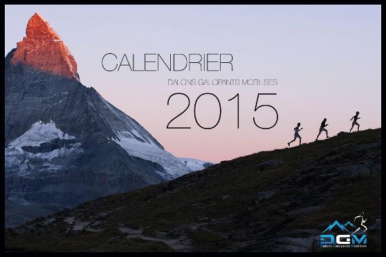 Calendrier 2015 des Dalons Galopants Mobilisés